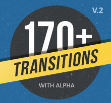 170 transitions Pack Alpha Matte