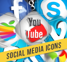 25 Social Media Icons Motion Graphics