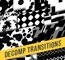 Decomp Transitions Alpha Matte 11 Pack