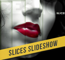 Slices Slideshow After Effects Template